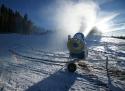 Abertamy ski areál Krušné hory