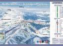 Ski areál Bachledova dolina - Jezersko  - mapa areálu