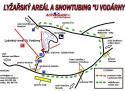 Ski areál Bedřichov - U Vodárny  - mapa areálu
