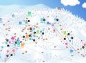 Ski areál Benecko  - mapa areálu