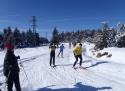 Běžecký skiareál Lesná sjezdovka Krušné hory