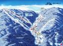 Ski areál Bílá  - mapa areálu