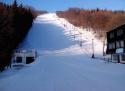 Bouřňák ski areál Krušné hory