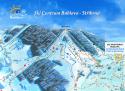 Ski areál Bublava  - mapa areálu