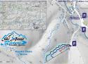 Ski areál Búřov  - mapa areálu