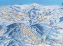 Ski areál Černá hora - Černý Důl  - mapa areálu
