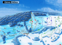Ski areál Černá Říčka  - mapa areálu
