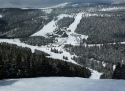 Červenohorské sedlo ski areál Jeseníky