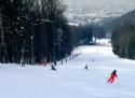 Červený kámen ski areál Beskydy