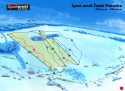 Ski areál České Petrovice  - mapa areálu