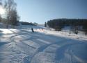 Dalečín ski areál Žďárské vrchy
