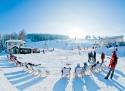 Deštné v Orlických horách ski areál Východní čechy