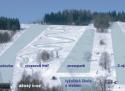 Ski areál Dolní Morava - Větrný vrch  - mapa areálu