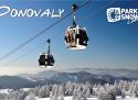 Donovaly ski areál Slovensko