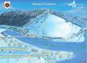 Ski areál Frymburk  - mapa areálu