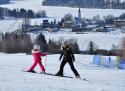Frymburk ski areál Jižní Čechy
