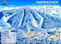 Ski areál Harrachov  - mapa areálu