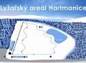 Ski areál Hartmanice  - mapa areálu