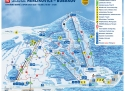 Ski areál Herlíkovice - Bubákov  - mapa areálu