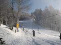 Hlinsko ski areál Východní Čechy