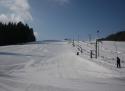 Hluboká ski areál Železné hory