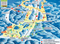 Ski areál Hohenbogen  - mapa areálu