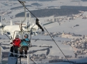 Hohenbogen ski areál Český les