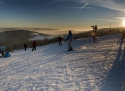 Horní Halže sjezdovka Krušné hory