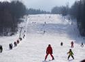 Horní Podluží ski areál Máchovo jezero