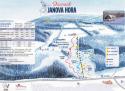 Ski areál Janova Hora  - mapa areálu