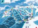 Ski areál Ještěd  - mapa areálu