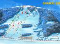 Ski areál Karolínka  - mapa areálu