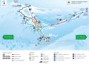 Ski areál Karpacz - Kopa  - mapa areálu