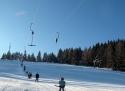 Kašperské Hory ski areál Jižní Čechy