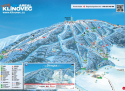 Ski areál KLÍNOVEC  - mapa areálu