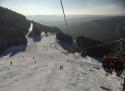 Klínovec ski areál Krušné hory