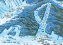 Ski areál Kopřivná - Malá Morávka  - mapa areálu