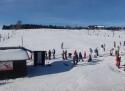 Kvilda ski areál Jižní Čechy