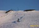 Loučná pod Klínovcem ski areál Krušné hory