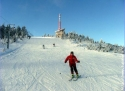 Lysá hora sjezdovka Slezsko