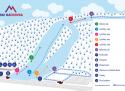 Ski areál Máchovka  - mapa areálu