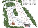 Ski areál Malenovice  - mapa areálu