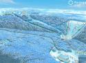 Ski areál Mariánské lázně  - mapa areálu
