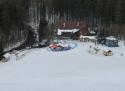Mariánské lázně ski areál Západní Čechy