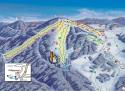 Ski areál Mitterdorf  - mapa areálu