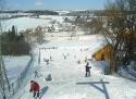 Mnichovice - Šibeniční vrch ski areál Střední Čechy