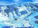 Ski areál Modrá Hvězda - Rokytnice nad Jizerou  - mapa areálu