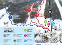 Ski areál Myšák - Karlov pod Pradědem  - mapa areálu
