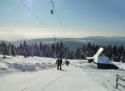 Neklid - Boží Dar ski areál Krušné hory