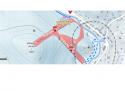 Ski areál Nové Hamry - U řeky  - mapa areálu